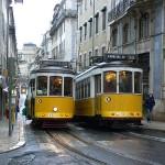 Tranvías en Lisboa